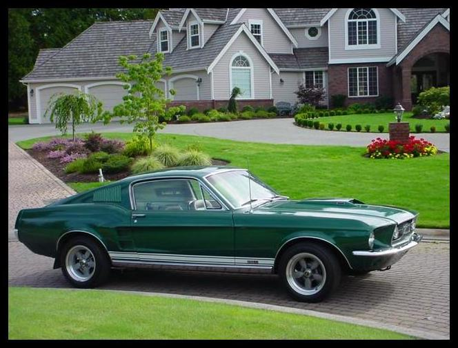 1967 ford mustang fastback the one i bought for 450 was heavily damaged the body had more bondo than metal but it was my first car - 1967 Ford Mustang Fastback Green